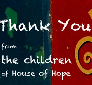 Thank You From The Children