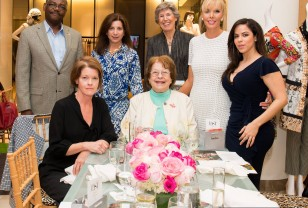 FOH Board members and special supporters (front left to right) Benefactor Connie Cioffi, board member Mary Newman, (back left to right) Renel Noel, Randi Trazenfeld, Alice Burch, Kathleen Monahan, and Silvana Marmolejos.